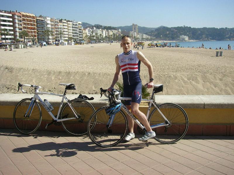Martin Skalsky nach dem Marathon in Barcelona