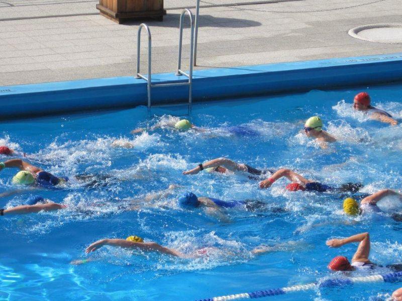 Neroman 2012: im Wasser