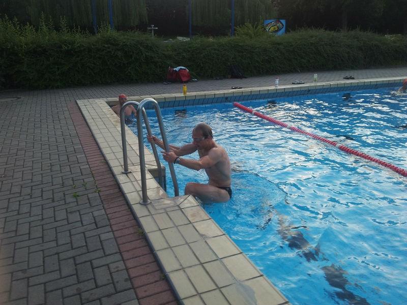 2012-11-23 Thomas Philipp beim Nachschwimmen