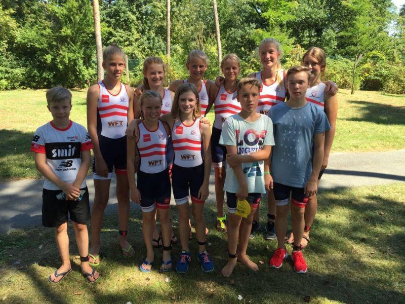 2016-08-28 Viernheim Teambild-Kids