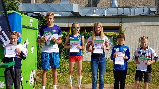 RüsselKids Triathlon: Siegerehrung HTV-Cup Gesamtwertung Schüler A
