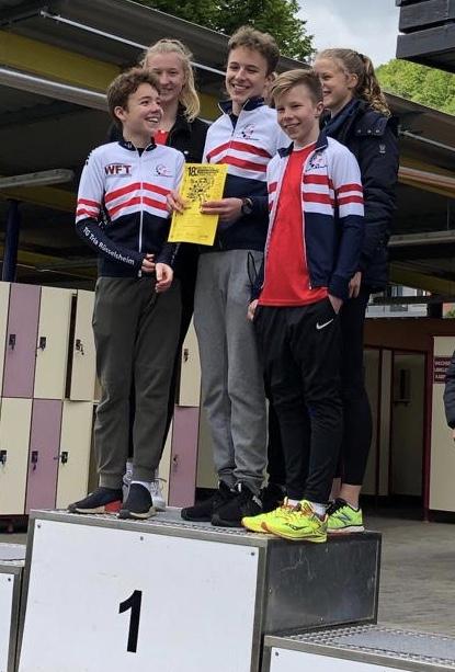 2019 05 05 Kinzigtal Triathlon Podest